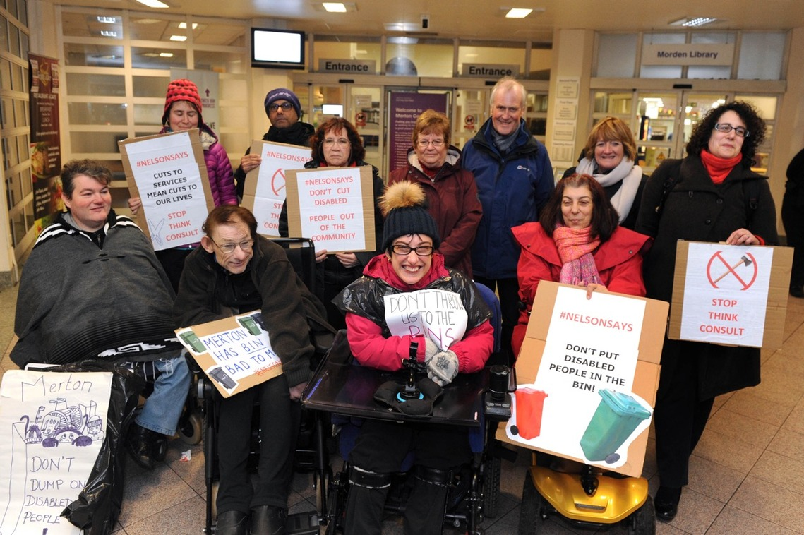 Cuts to Adult Social Care Protest