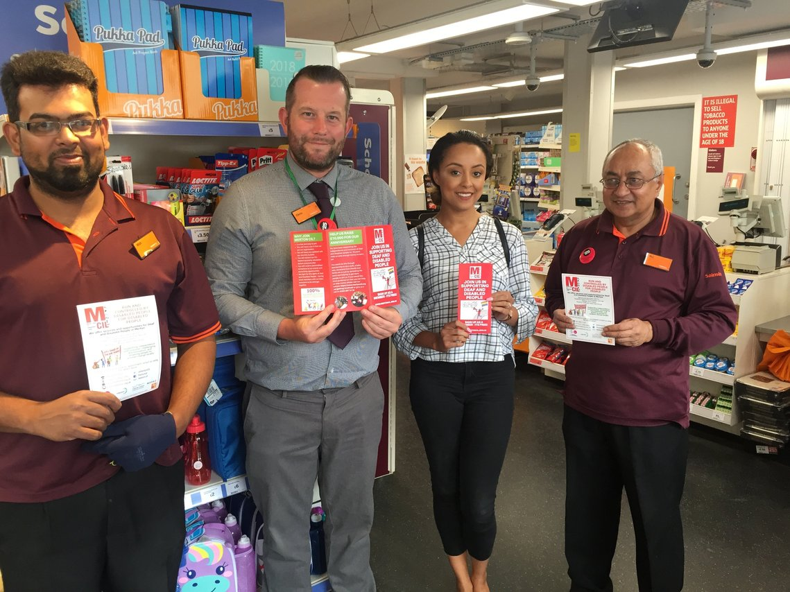 Merton CIL chosen as Sainsburys Local Morden Charity of the Year