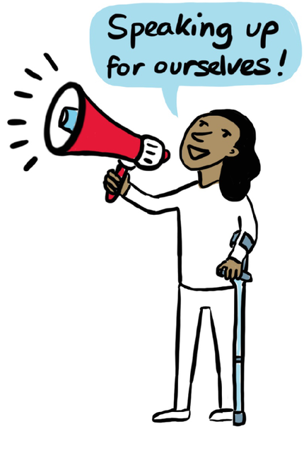 Speak Up Illustration