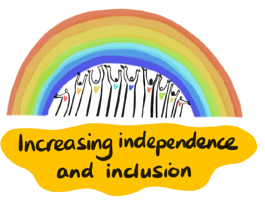 We work towards promoting Independence and Inclusion